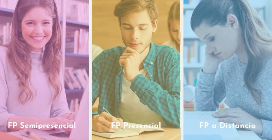 FP Semipresencial, FP Presencial y FP a Distancia, ¿cuál es mejor para mi?