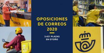 Las Oposiciones de Correos 2020 se celebrarán en Otoño