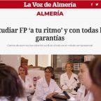 Formas Formación en la Voz de Almería