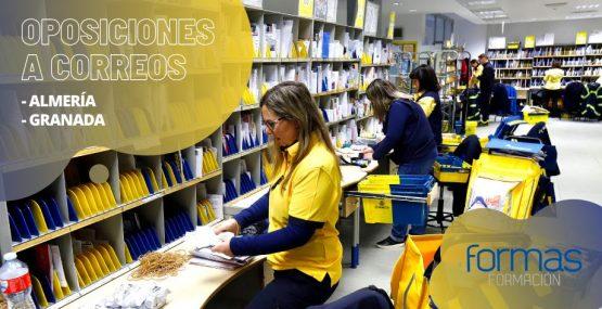 Prepara Oposiciones a Correos en Almería y Granada con el Método Semipresencial