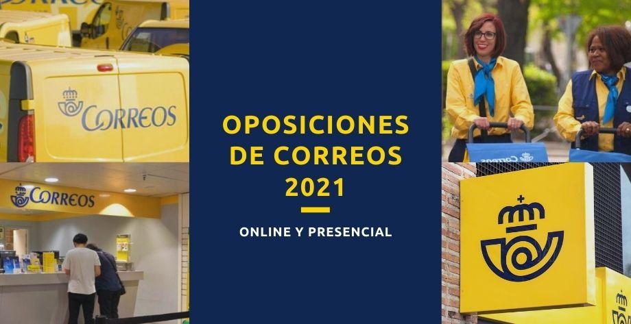 Prepara Oposiciones a Correos 2021 en Almería