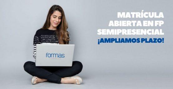 Ampliamos plazo de matrícula para FP Semipresencial en Almería